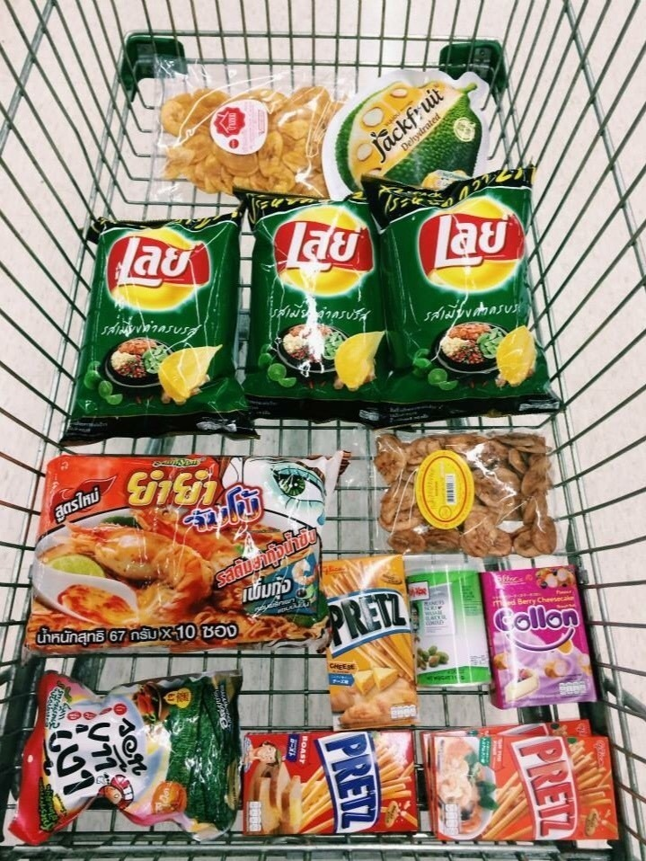 9:30 pm, Grocery haul, BTS On Nut (E9) (BTS อ่อนนุช) by